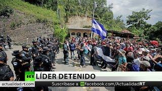 Policía detiene a líder de la caravana de migrantes hondureños tras amenazas de Trump