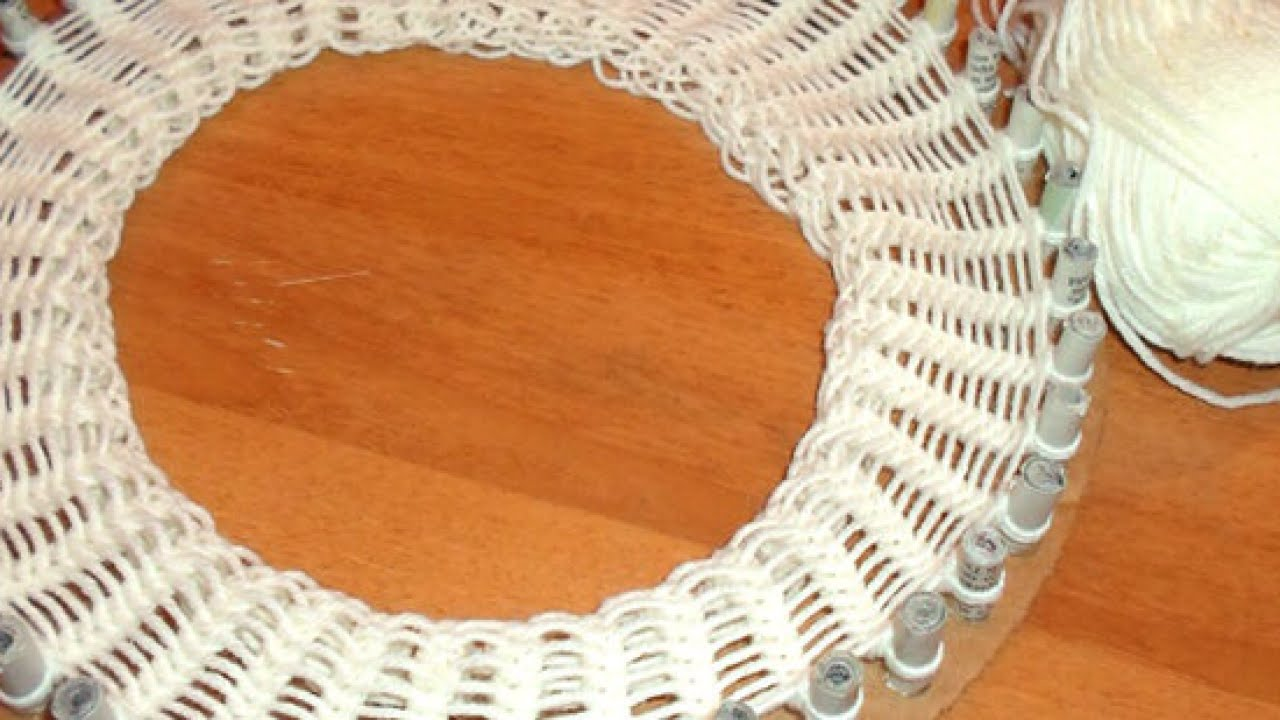 How To Create A Handmade Cardboard Knitting Loom Diy Crafts