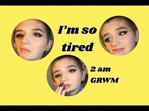 GETTING READY FOR SCHOOL AT 2am