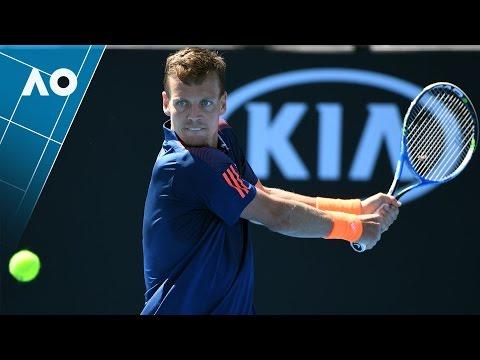 Berdych v Harrison match highlights (2R) | Australian Open 2017