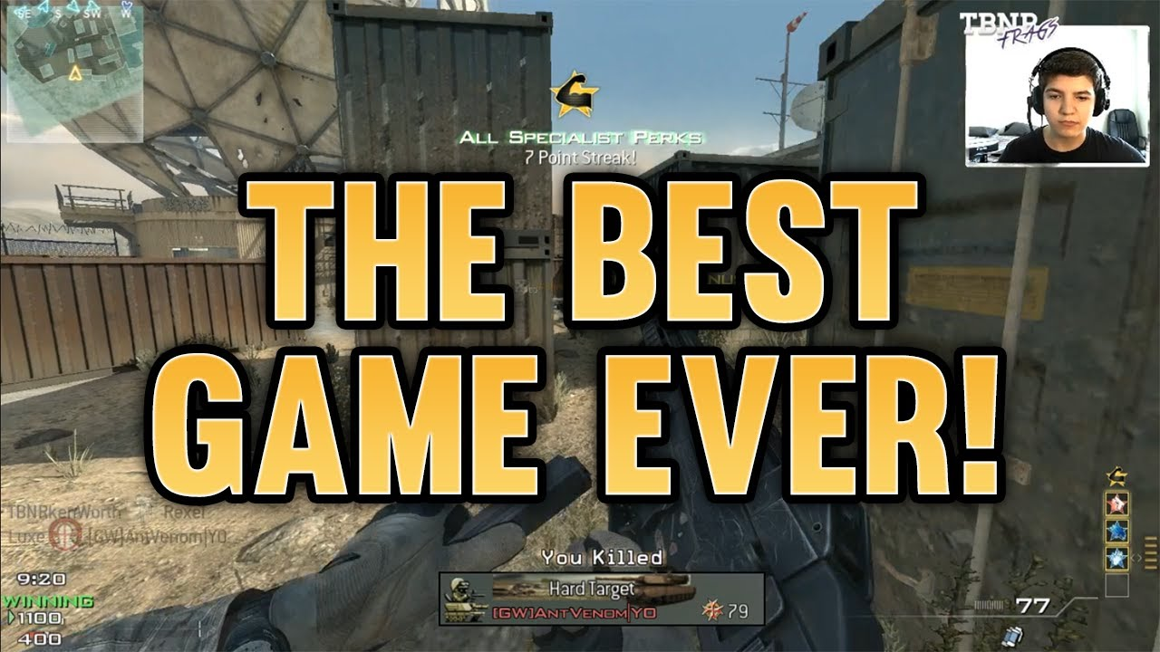 Best game ever quot dream team v9 call of duty modern warfare 3