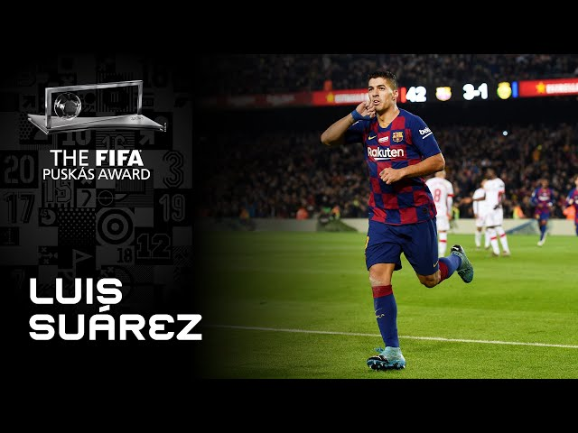 Luis Suarez Goal | FIFA Puskas Award 2020 Nominee