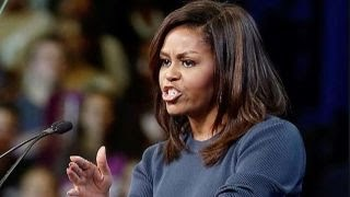 Sour grapes gloom and doom from Michelle Obama on Trump?