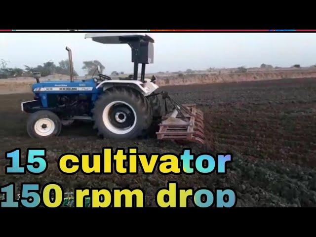 New Holland 3630 special edition vs 15 cultivator full depth
