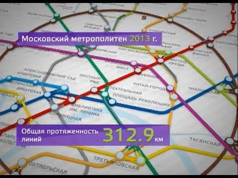 Развитие метро до 2020 года.