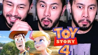 TOY STORY 4 | Official Trailer | Reaction!