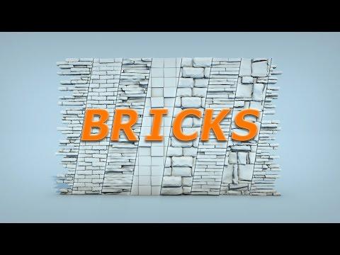 RayFire Bricks modifier overview