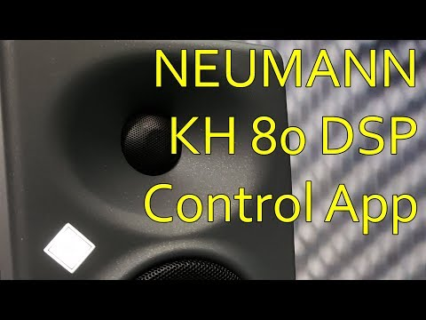 Neumann KH 80 DSP Control App 4K AES 2018 NYC