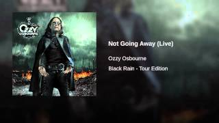 Not Going Away (Live)