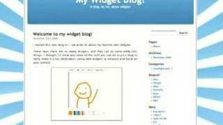 What are Web Widgets? (1/5)