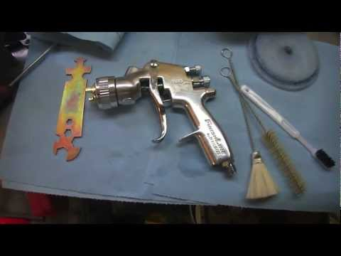 DIY How to Clean a HVLP Gun