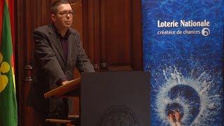 D. Roden, lauréat du «Prix Fondation Auschwitz» - 2016-10
