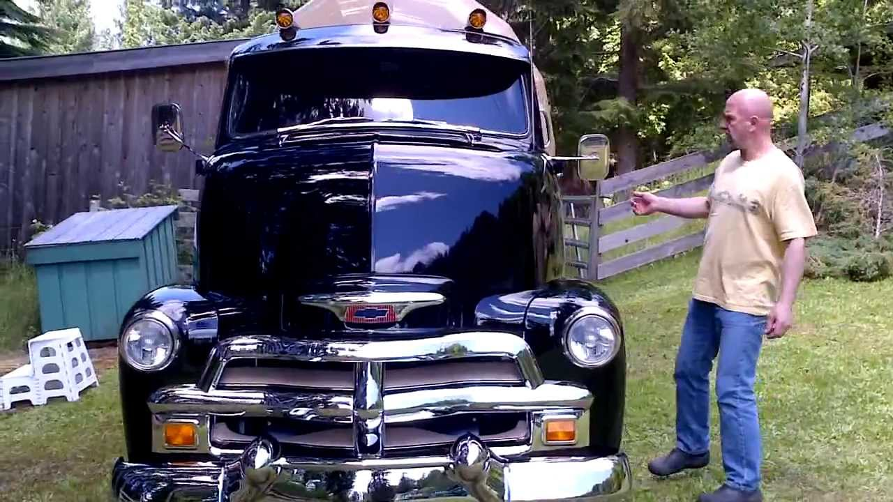 1954 Chevrolet COE Tourliner - YouTube
