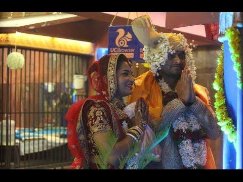 Bhojpuri Actress Monalisa Weds Vikrant In Bigg Boss Season 10