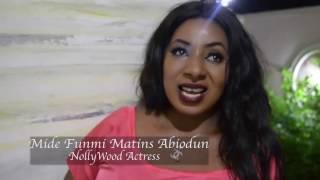 Nollywood Actress, Mide funmi Martins   Enjoying her Status
