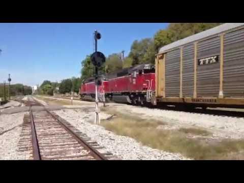 Indiana & Ohio Ry Local Shunting And Pacing Fast IORY Auto Hauler!