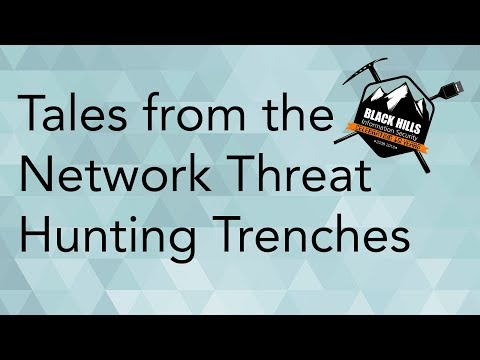 Tales From The Network Threat Hunting Trenches & AI Hunter Demo