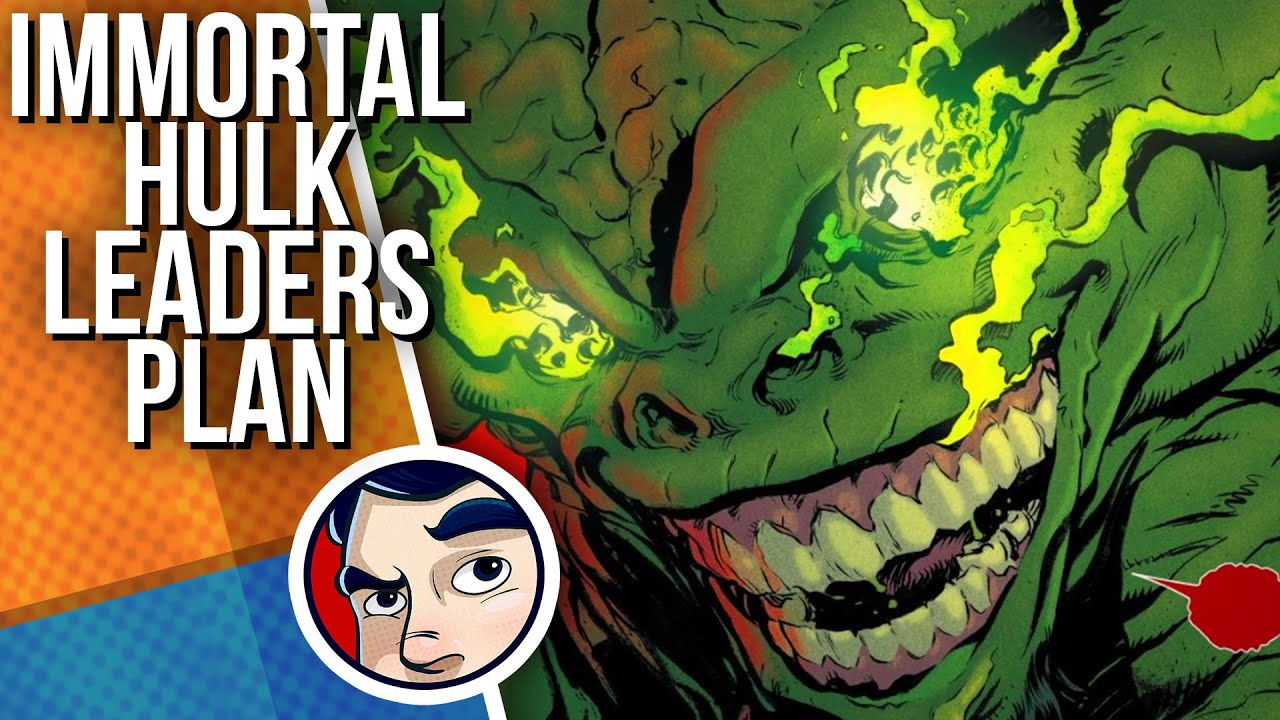 "Immortal Hulk ""The Devil's Plan Revealed!"" - Complete Story | Comicstorian"