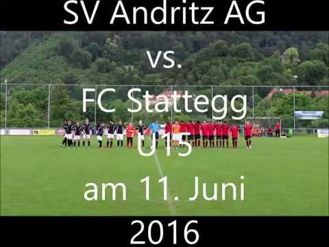 SV Andritz AG JG 2001 gegen  FC Stattegg U15