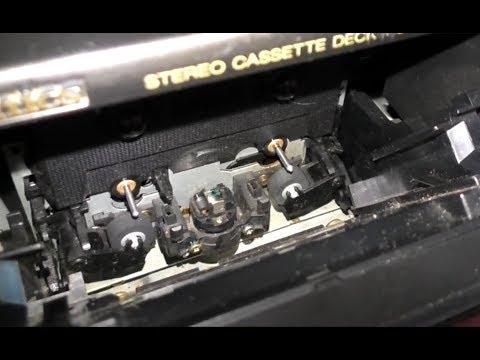 Чистка головки и прижимного ролика магнитофона