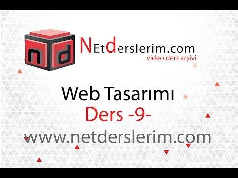 Web Tasarımı Dersleri