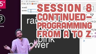 live stream 67 session 8 continued programming from a to z
