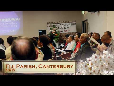 FNC 2016 Highlights, Rev Ili Vunisuwai and Fiji Parish Canterbury