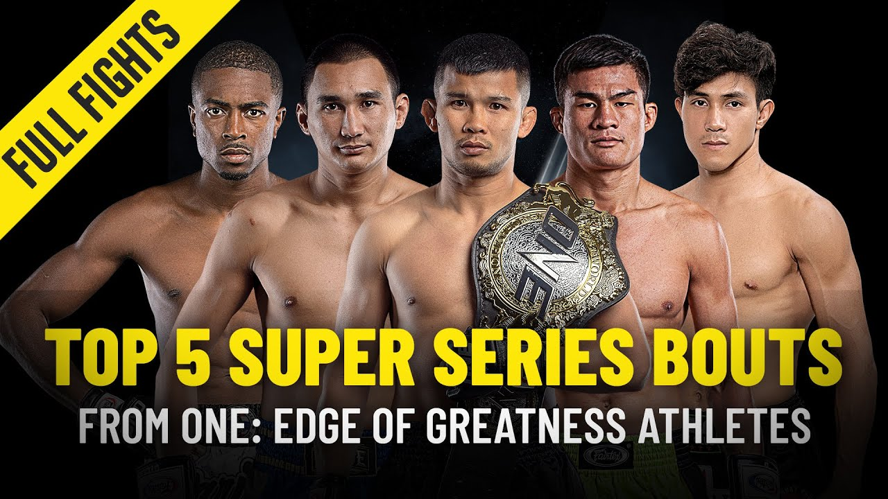 Top 5 ONE Super Series Bouts | ONE: EDGE OF GREATNESS Athletes | ONE Full Fights