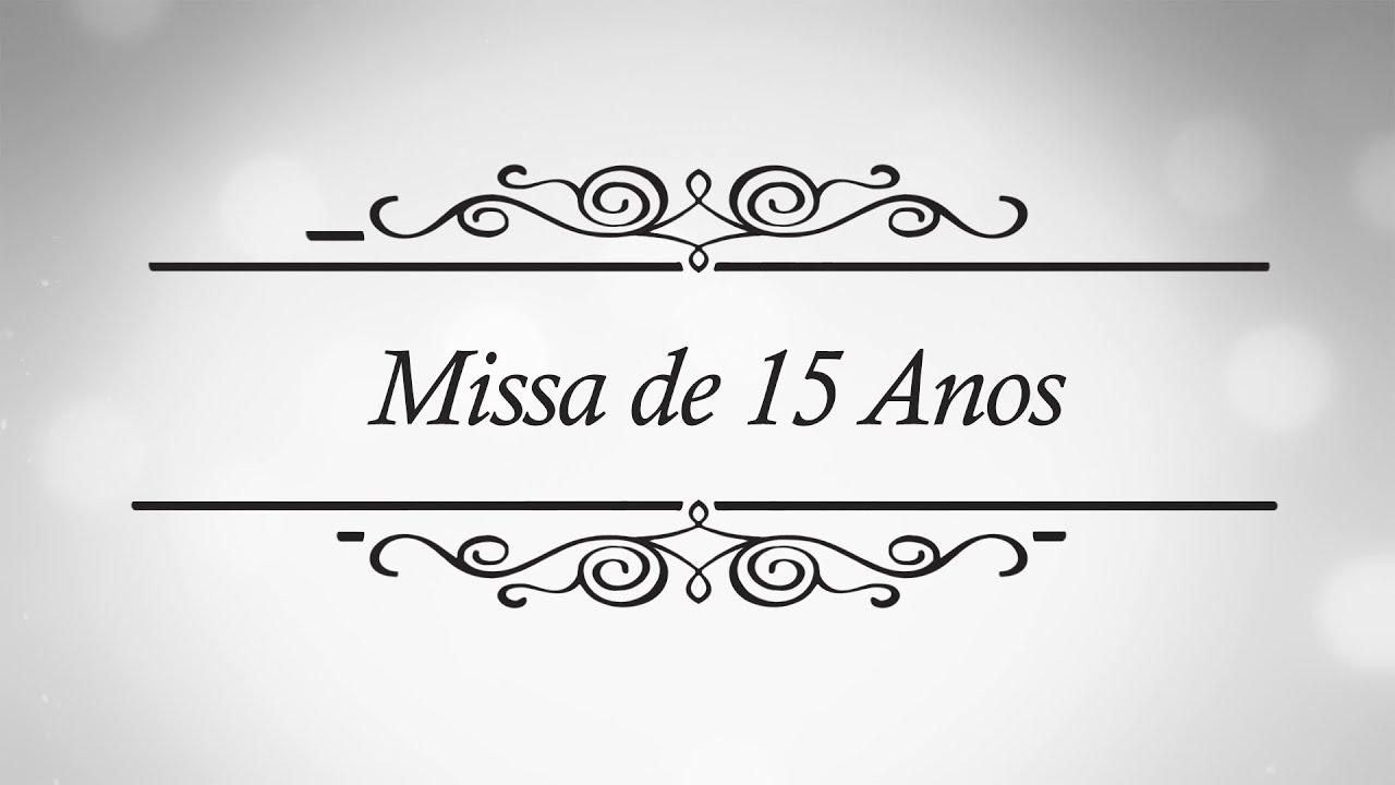 Missa jade 15 anos youtube for Ornamentacion de 15 anos