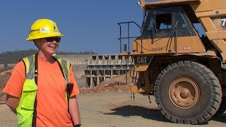 Oroville Spillways Construction Crew Spotlight—Tina