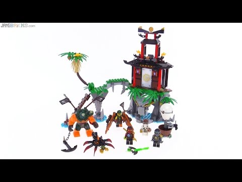Ninjago Tiger Widow Island Review