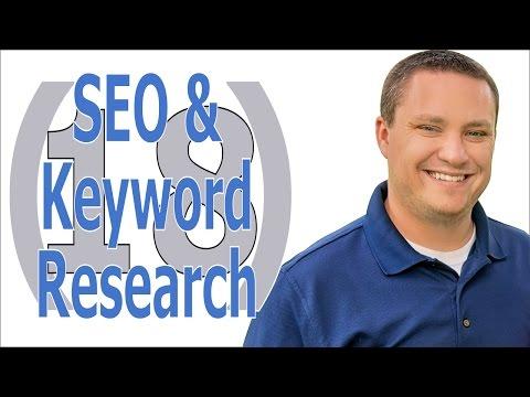 Blog SEO and Keyword Tutorial Video