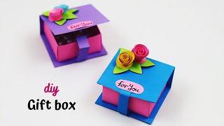 DIY Gift Box Ideas  How To Make a Gift Box  Handmade Gift Box  Origami box