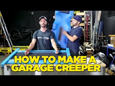 How To Make A Garage Creeper (ONLY $30!!)