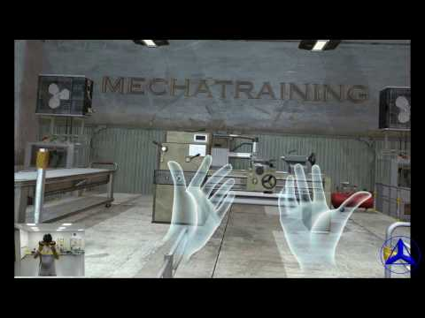 Virtual Reality Lathe by Mechatraining LLC