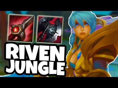 DAWNBRINGER RIVEN JUNGLE - League of Legends