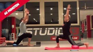 Faszien Yoga mit Yvonne & Benno - (Ganzkörper, Fokus: Beine)
