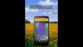 شرح عملي على تطبيق (Fields Area) لقياس الأطوال والمساحات screenshot 1