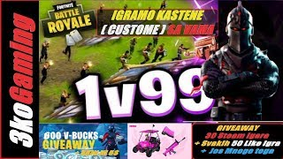 FORTNITE KASTEN ( KUSTOM ) SA VAMA !!! + Giveaway Svakih 100 Liky 1 Steam ! Igra Road To 4500