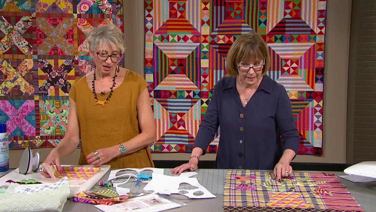 The Quilt Show Trailer 2303 Kathy Doughty Alex Anderson