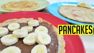Pancakes Crepes Recipe Easy   1 Minute Series #CookwithAnisa #recipeoftheday #pancakeday