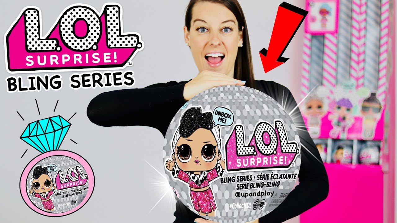 Surprise !L.O.L Multicolor new toy for girls Bling Series with 7 Surprises
