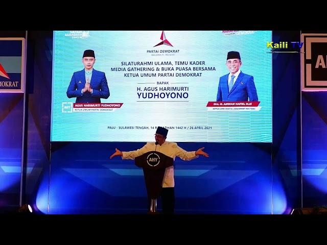 Wejangan Hangat Prof Zainal Abidin Dihadapan AHY Beserta Kader Demokrat