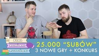 25.000 subskrypcji, nowy konkurs i recenzje w 30 sekund