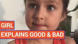 Smart Little Girl Gives Life Advice | Daily Heart Beat