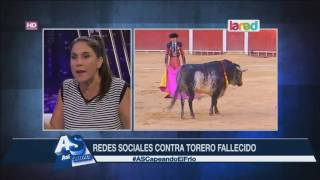 El impactante video del torero que muere en celebración