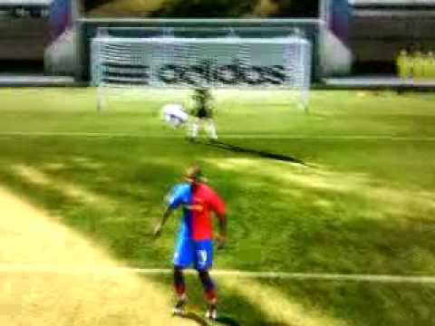 How To Do A Bicycle Kick On Fifa 09 In Arena