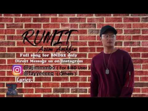 Rumit (Lyric Video) - Azim Ariffin // Short Version
