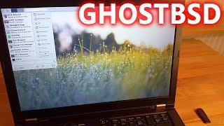 ghostBSD (FreeBSD) tested on real hardware ThinkPad T410 - better than TrueOS?
