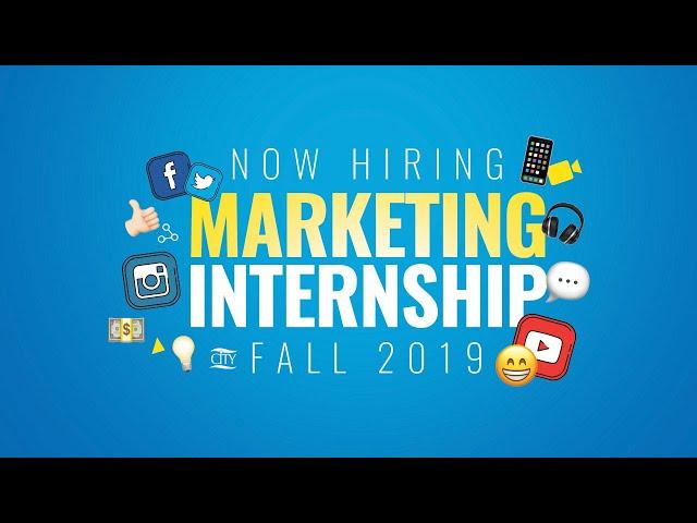 NOW HIRING: Fall Marketing Internship